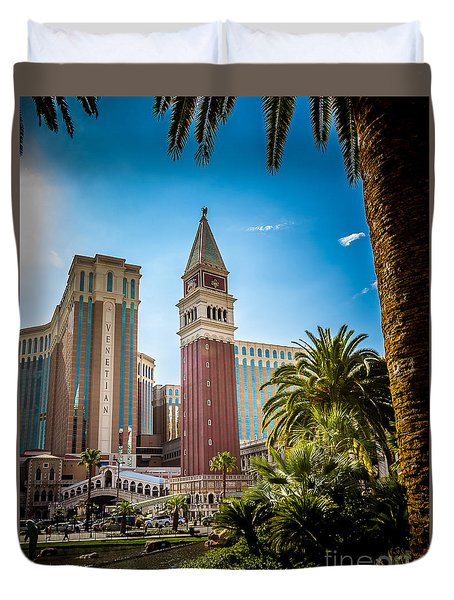 The Venetian Tower Duvet Cover