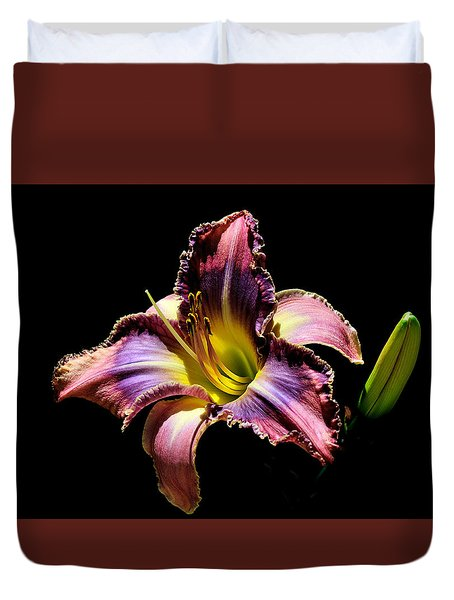 The Vibrant Lily Duvet Cover