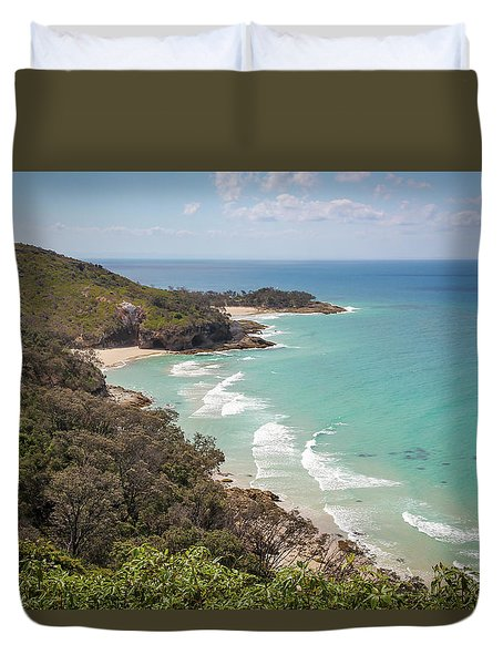 The View From The Cape Duvet Cover
