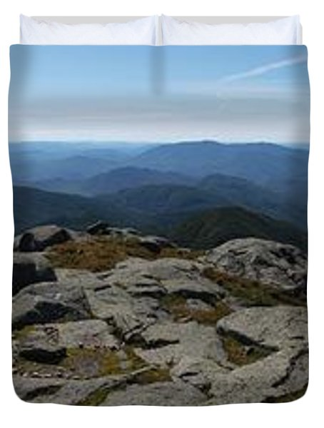 The View North From Mt. Marcy Duvet Cover