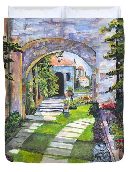The Villa Duvet Cover