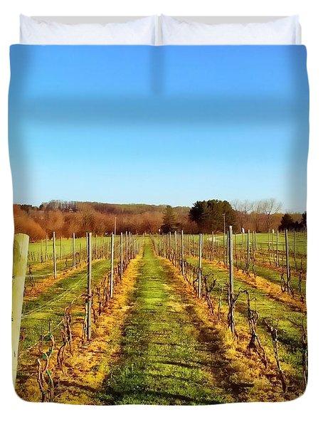 The Vineyard Duvet Cover