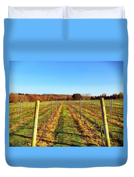 The Vineyard Duvet Cover