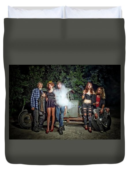The Visitor Duvet Cover