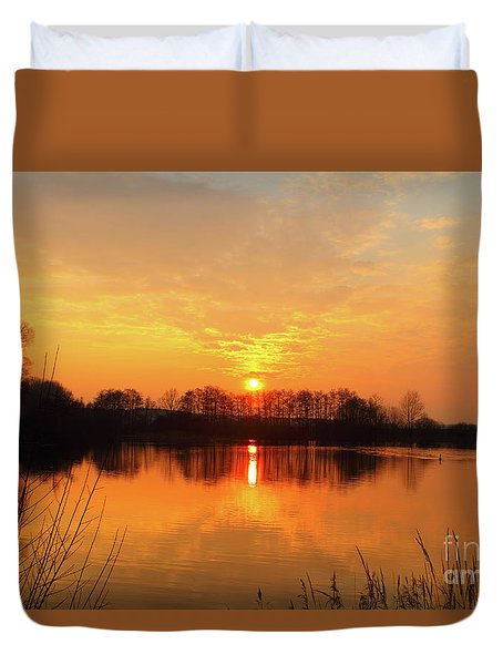The Waal Duvet Cover by Nichola Denny