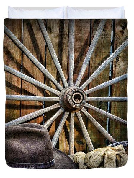 The Wagon Master Duvet Cover