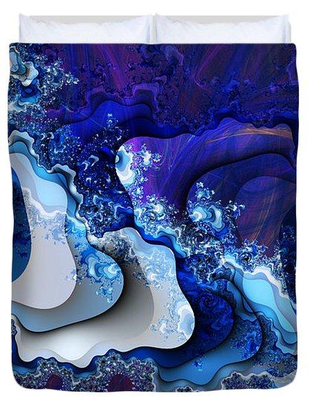 The Wake Of Thy Spirit's Passage Duvet Cover