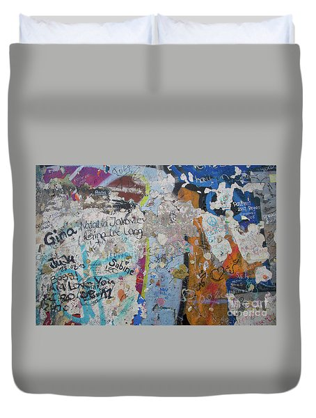The Wall #10 Duvet Cover