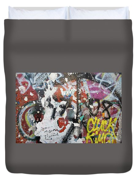 The Wall #11 Duvet Cover