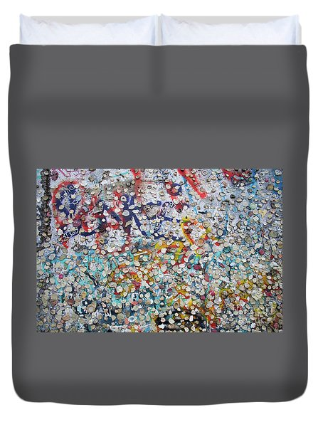 The Wall #2 Duvet Cover