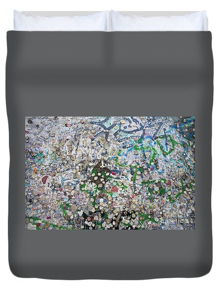 The Wall #3 Duvet Cover