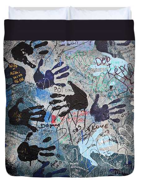 The Wall 34 Duvet Cover