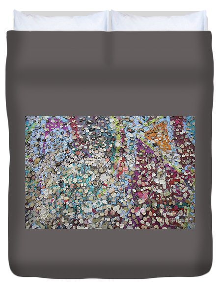 The Wall #4 Duvet Cover