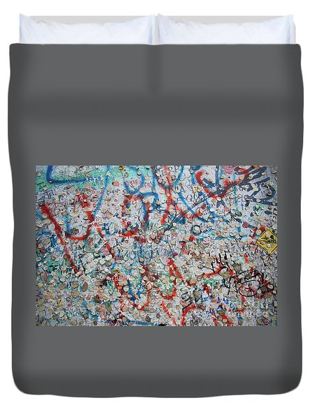 The Wall #7 Duvet Cover
