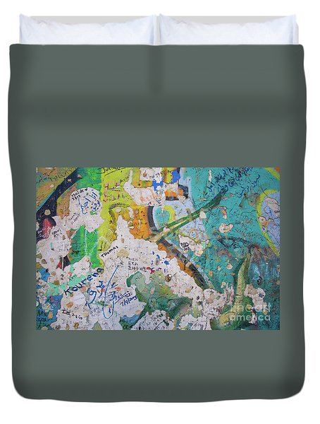 The Wall #8 Duvet Cover