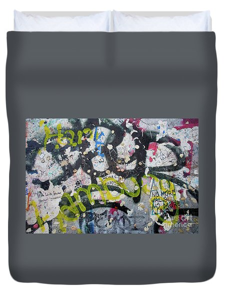 The Wall #9 Duvet Cover