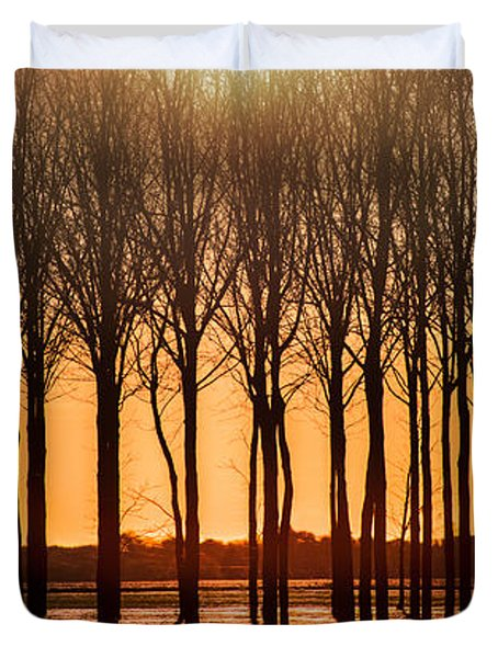 The Walnut Grove Duvet Cover