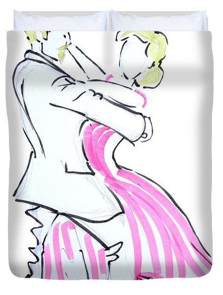 The Waltz Duvet Cover