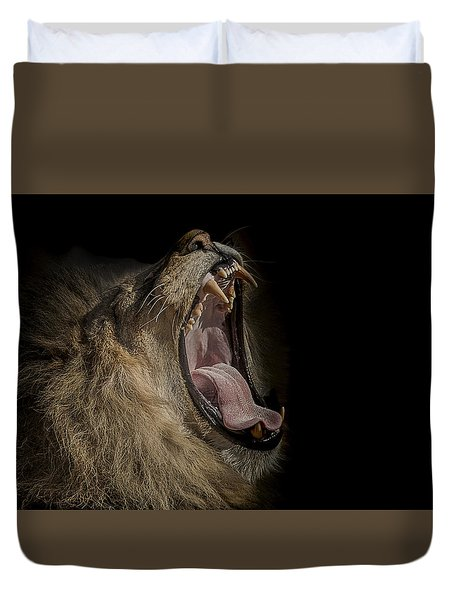 The War Cry Duvet Cover