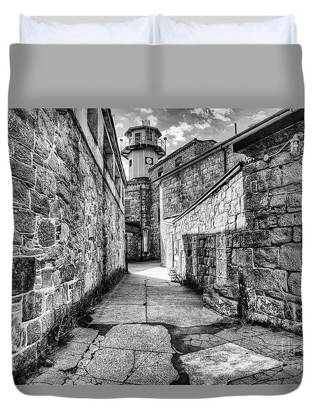 The Watch Tower Eastern State Penitentiary Duvet Cover