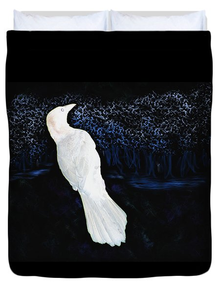 The Watcher In The Forest Duvet Cover