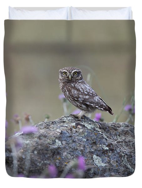 The Watcher Watched Duvet Cover