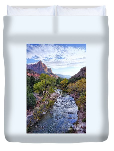 The Watchman Duvet Cover