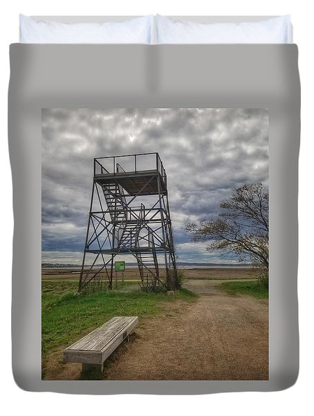 The Watchtower  Duvet Cover