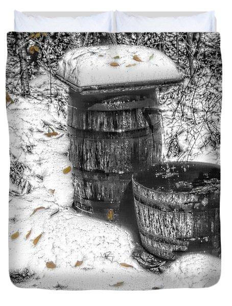 The Water Barrel Duvet Cover