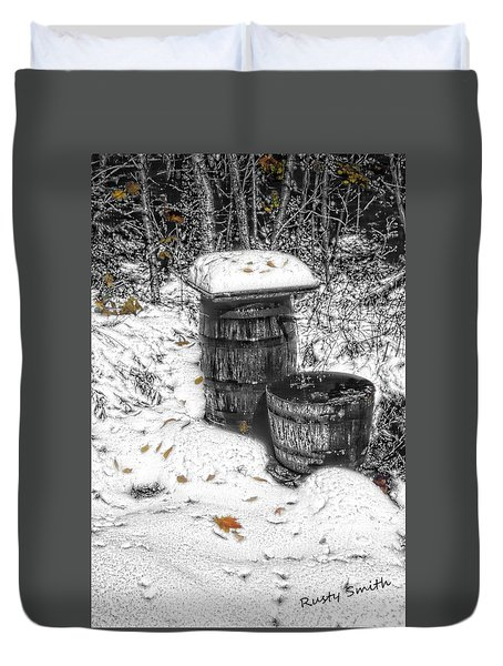 The Water Barrel Duvet Cover