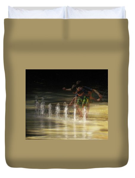 The Water Maestro  Duvet Cover
