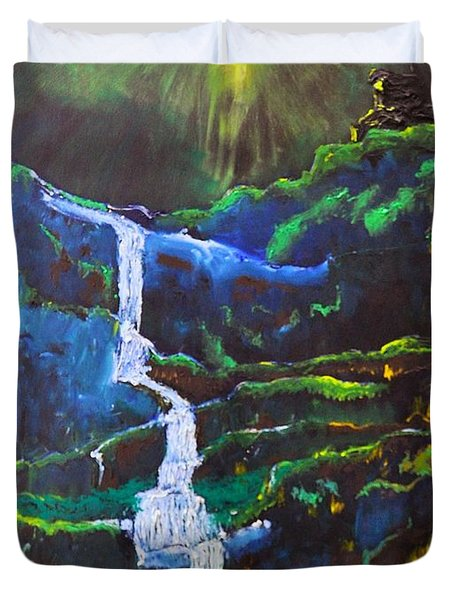 The Waterfall Duvet Cover