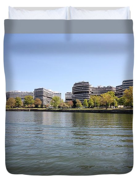 The Watergate Complex Duvet Cover