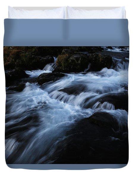 The Waters Of Kirkjufell Duvet Cover