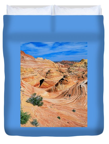 The Wave 2 Duvet Cover