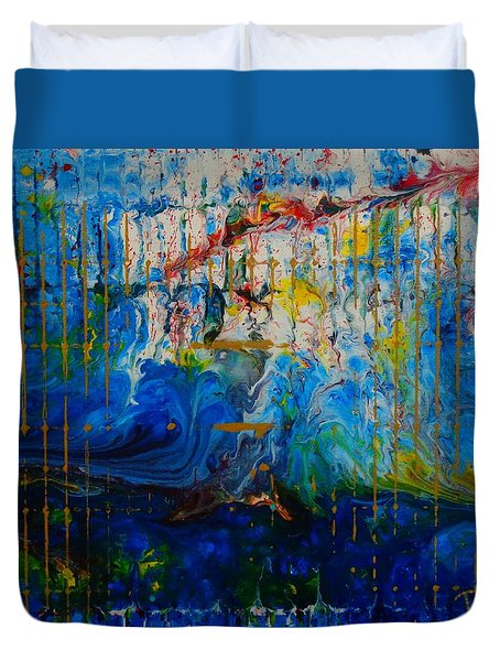 The Sound Wave Duvet Cover