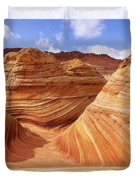 The Wave I Duvet Cover
