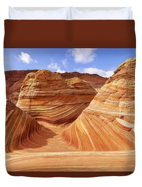 The Wave I Duvet Cover by Chad Dutson