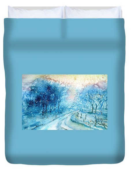 The Way Home  Duvet Cover