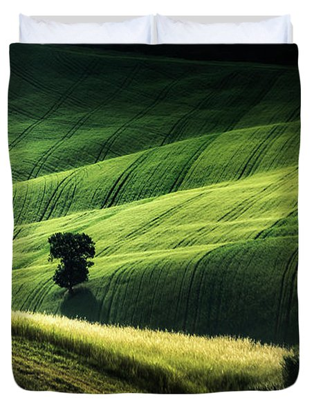 The Way The Light Falls Duvet Cover