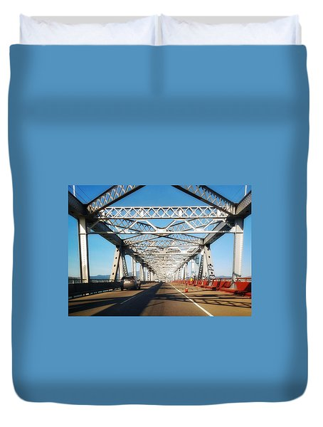 The Way To New Orleans Duvet Cover