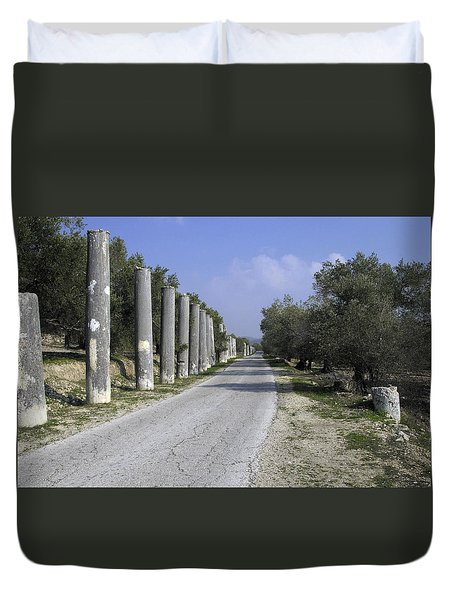 The Way To Sebastia Duvet Cover
