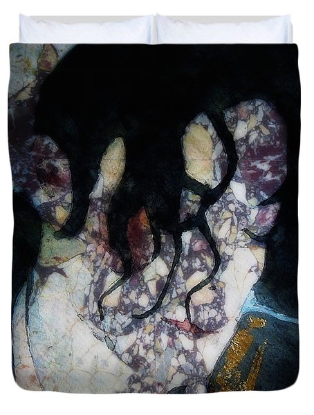 The Way You Make Me Feel Duvet Cover by Paul Lovering