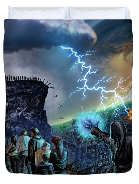The Weak Shall Bring Us Down Duvet Cover