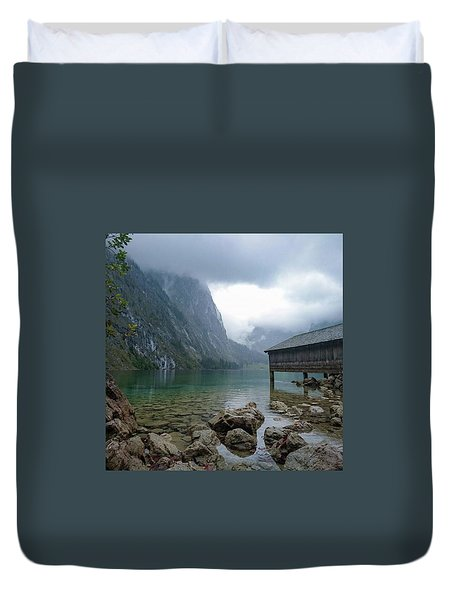 Obersee Germany Duvet Cover