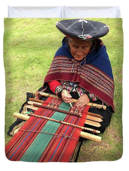 The Weaver Duvet Cover