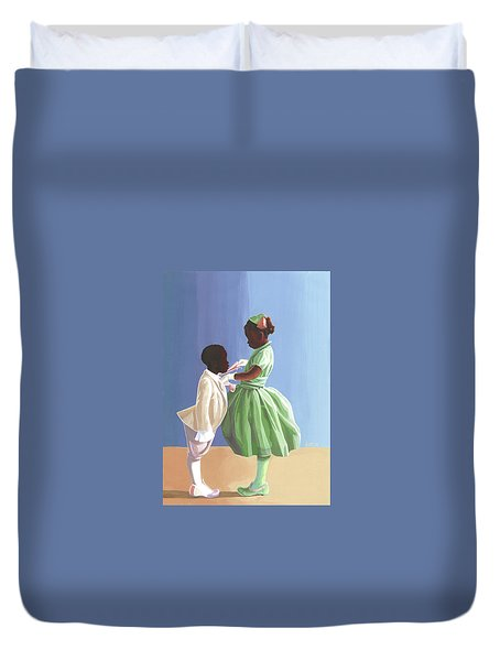 The Wedding Duvet Cover