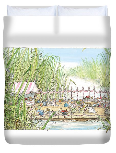 The Wedding Party Duvet Cover by Brambly Hedge