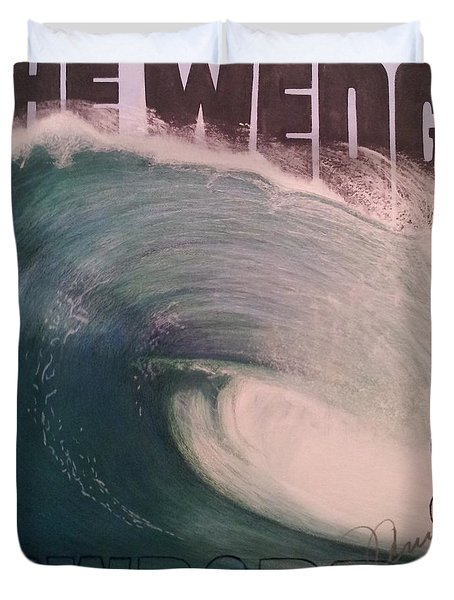 The Wedge 2014 Duvet Cover