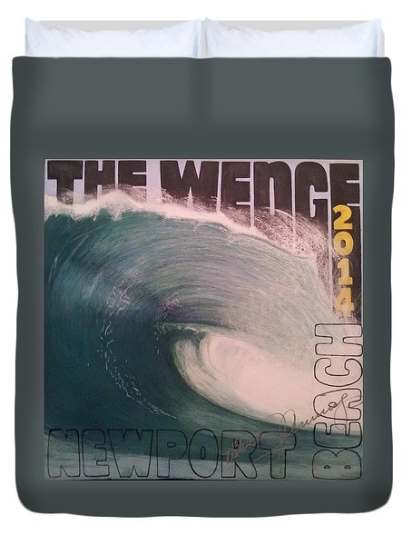 The Wedge 2014 Duvet Cover